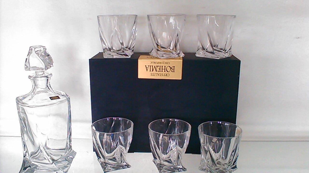 6 verres Quadro à whisky