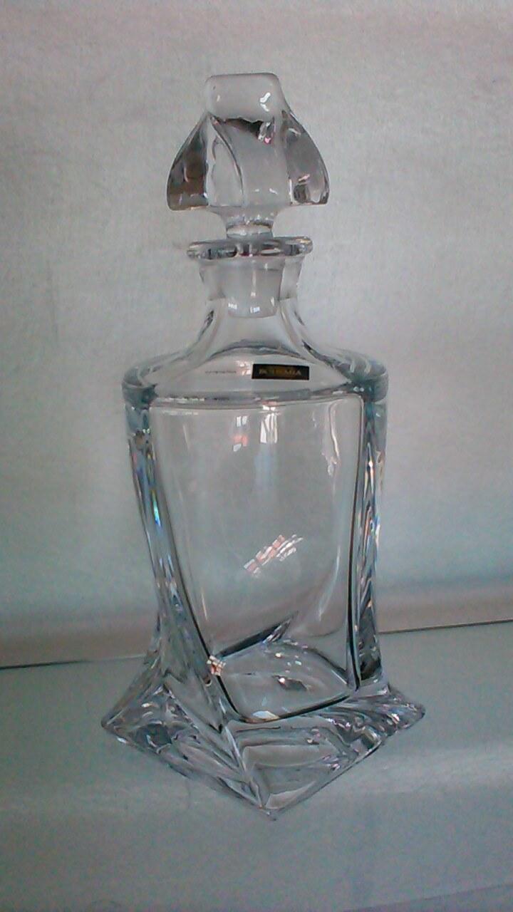 Carafe à whisky Quadro en cristallin