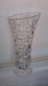 Vase Patriot 33 cm en cristal de Bohème